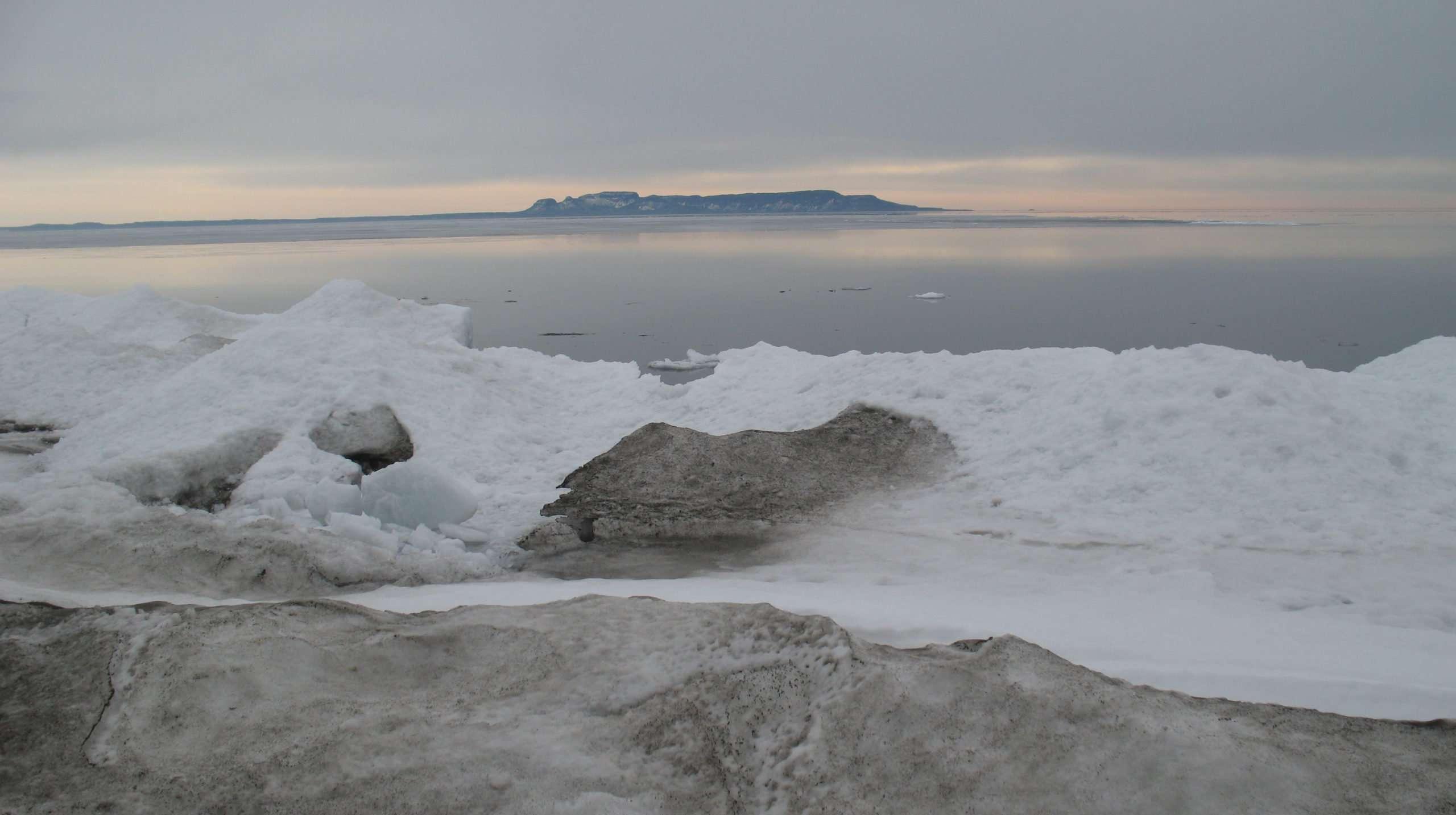 Brule Bay Ice Hike