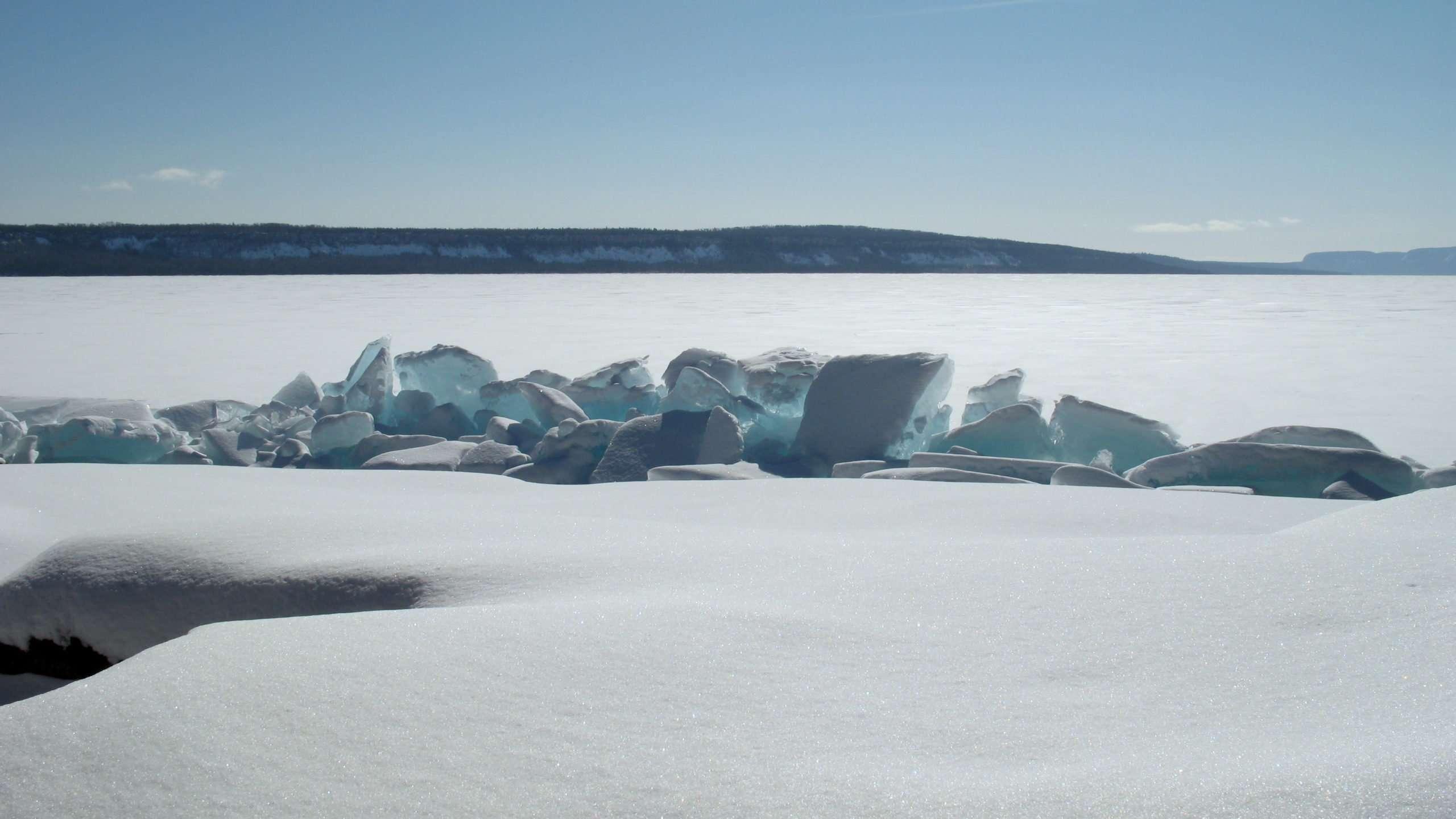 Caribou Island Ice Hike