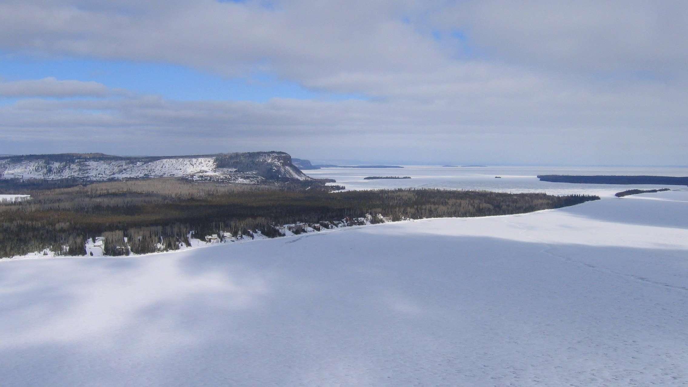 Mink mountain trail
