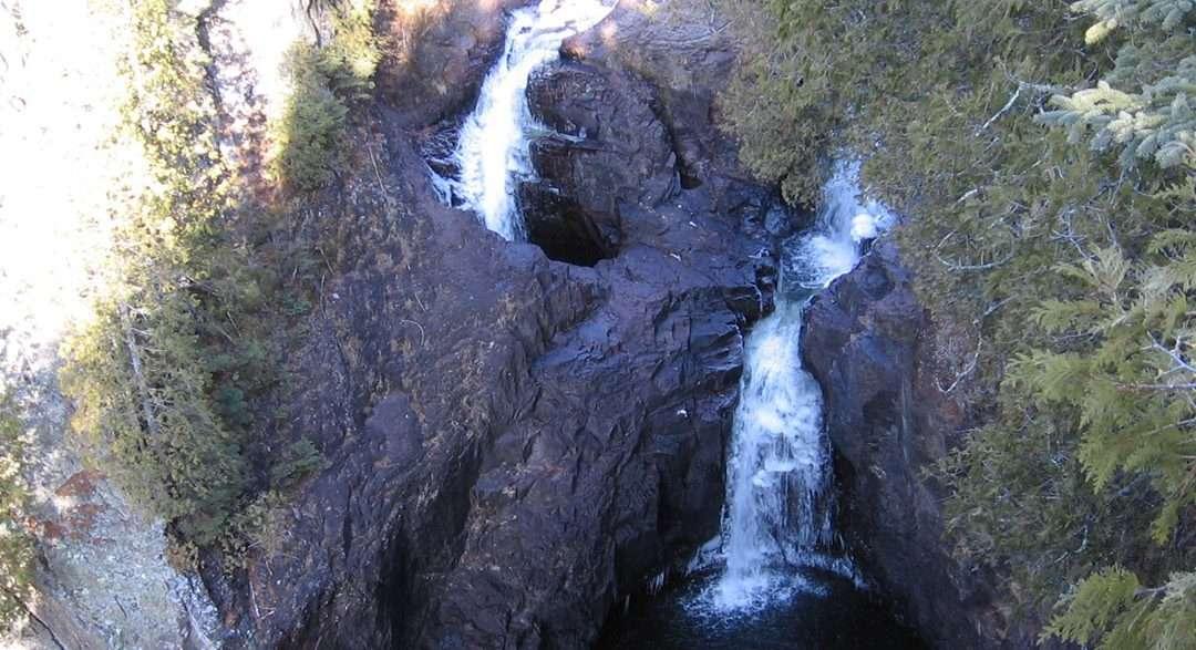 devils kettle falls hiking trail minnesota