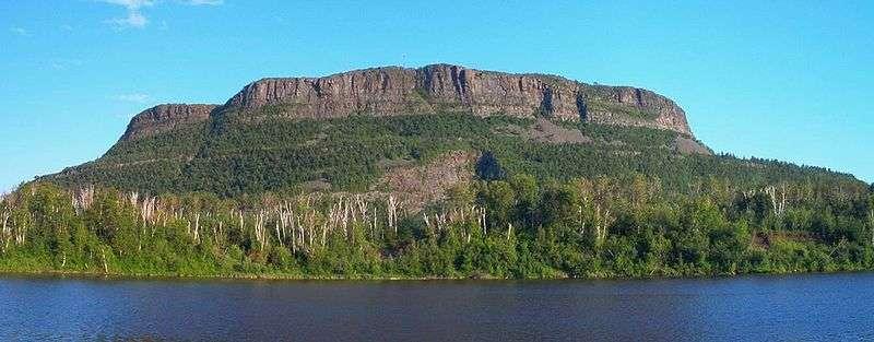 Top of Mt McKay