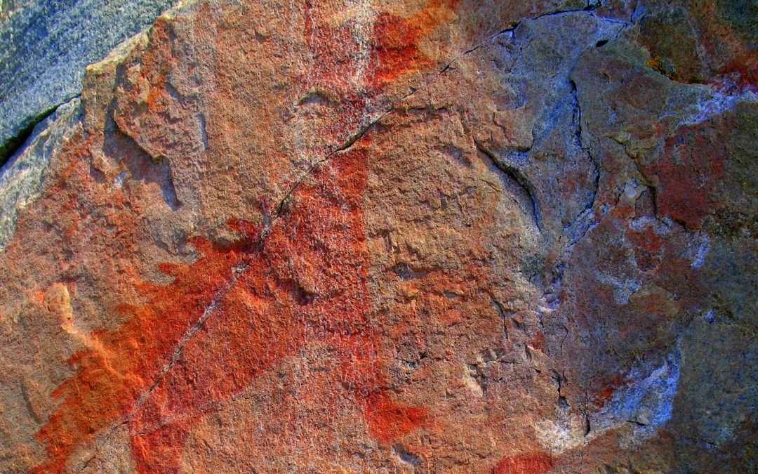 agawa rock pictographs trail