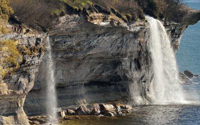 Spray Falls Overlook